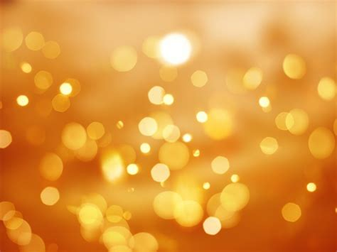 lights with photos orange background with bokeh lights photo free
