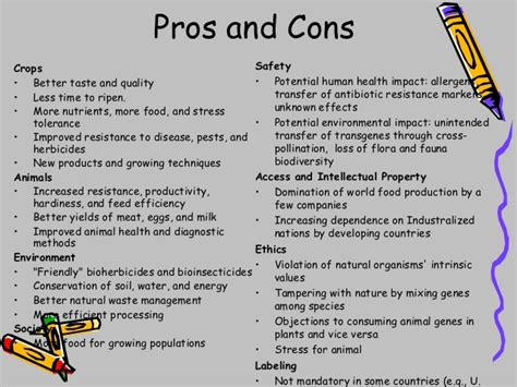 design engineer pros and cons genetic engineering