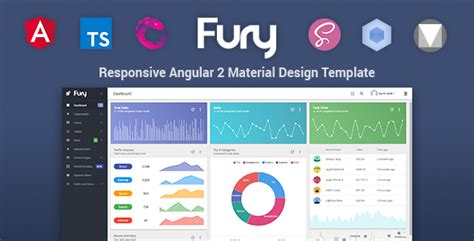 themeforest angular 2 fury angular 2 material design admin template admin