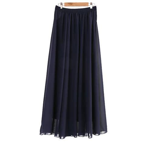 popular pleated maxi skirt buy cheap pleated maxi skirt