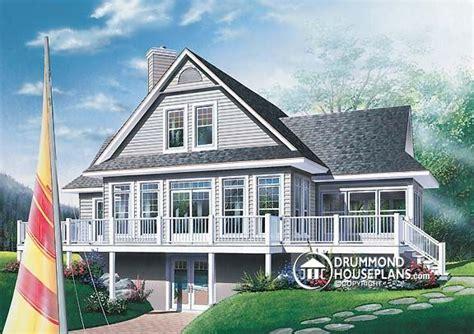 Sloped Lot House Plans Walkout Basement Home Ideas 187 Sloping Lot Walkout Basement House Plans