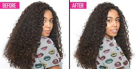 thinned out curly hair the genius way to thin out super thick hair without