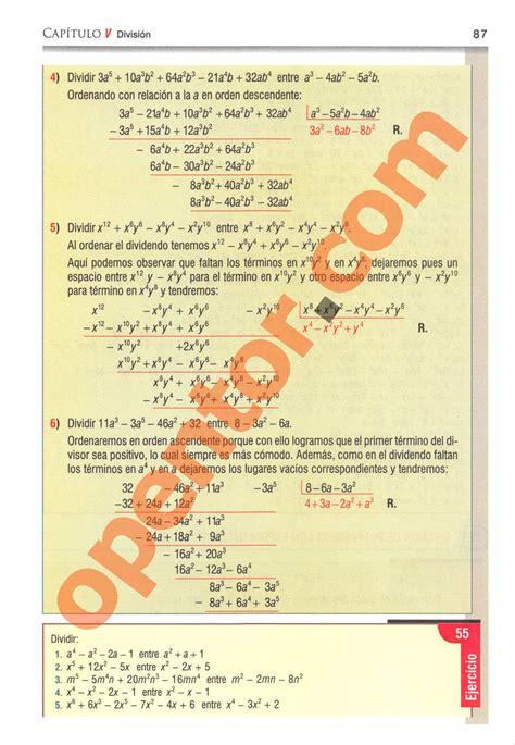 libro de algebra solucionario del algebra de mancil 1 pdf gratis