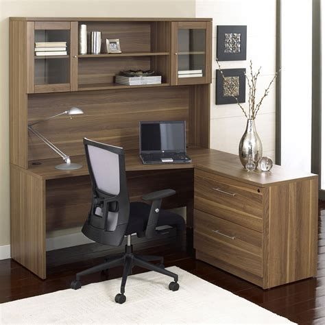 wood computer desks with hutch wood corner l shape computer desk with hutch minimalist
