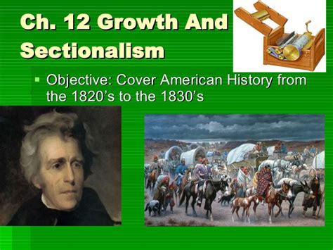 growth of sectionalism growth and sectionalism