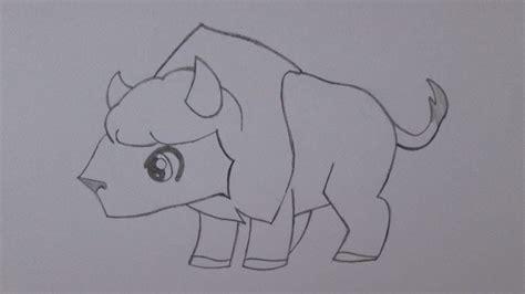 imagenes de toros para dibujar a lapiz how to draw a buffalo youtube