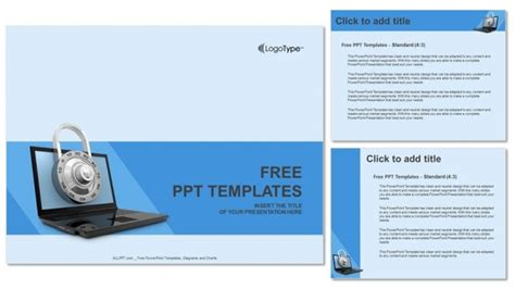 Computer Security Project Template Computer Security Powerpoint Templates