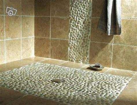 receveur de galets receveur galets et carrelage salle de bain