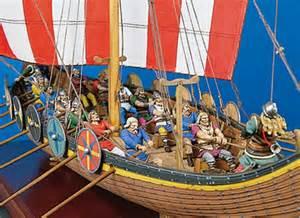 Viking longship sm s04 54 mm 1 30 series medieval knights andrea