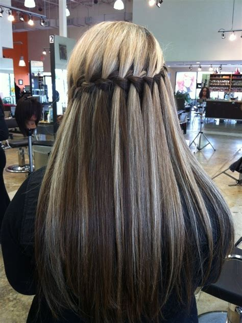 hairstyles ideas for long hair braids 10 best waterfall braids hairstyle ideas for long hair