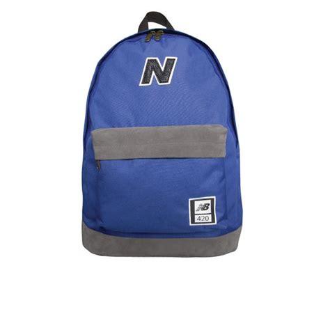 Backpack New Balance Blue new balance 420 backpack blue grey probikekit uk