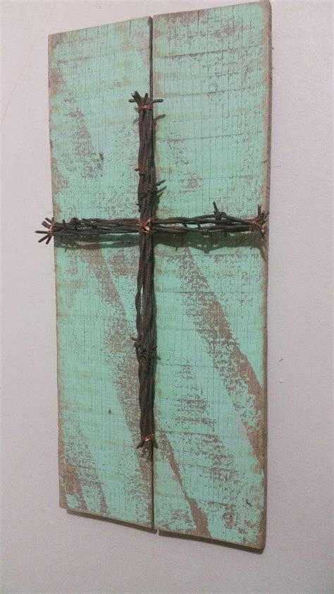 Skyrim Sign Wood Pallet unique reclaimed pallet sign barbed wire cross upcycled recycled repurposed barn wood shabby