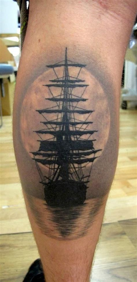 amusing boat tattoo on shank new tattoo designs february