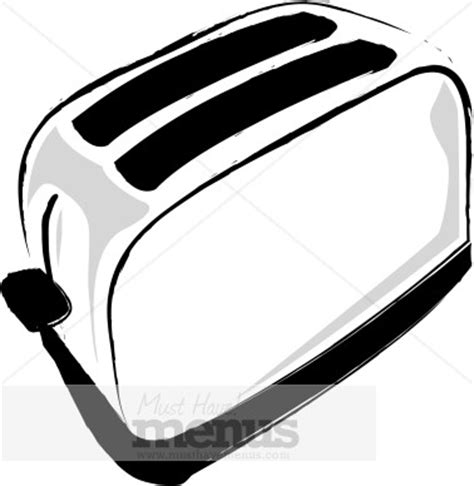 Black And White Toaster Toaster Clipart Cooking Images