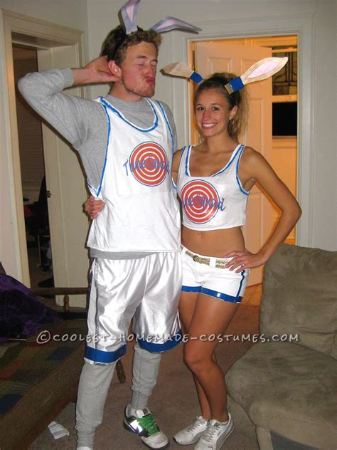 minute space jam bugs bunny  lola bunny couple costume