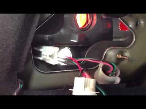 2010 hyundai sonata 3rd brake light replacement tail light socket replacement 1 youtube