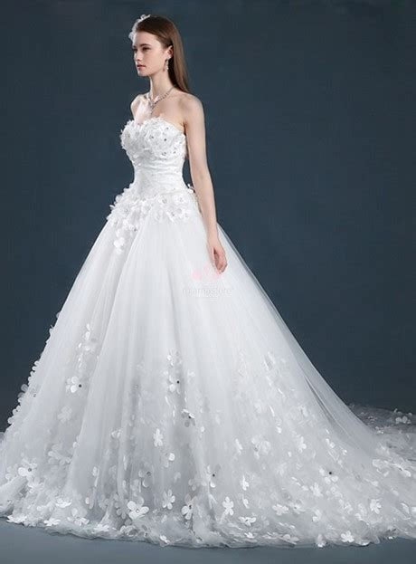 abiti sposa fiori abito da sposa fiori