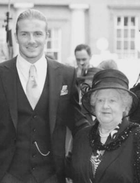 We Missed Beckham by David Beckham Remembers His Late Grandmother With