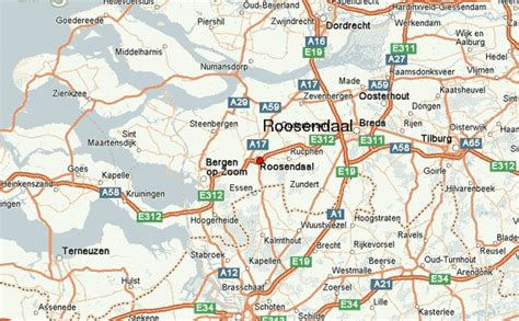 brabant netherlands map roosendaal location guide