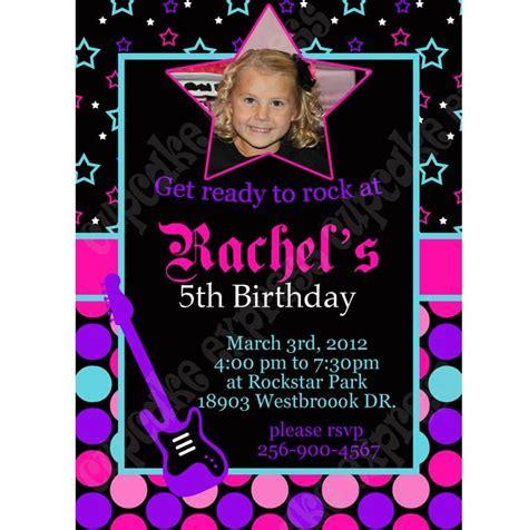 printable invitation rockstar 70 best rockstar glam ideas images on pinterest girl