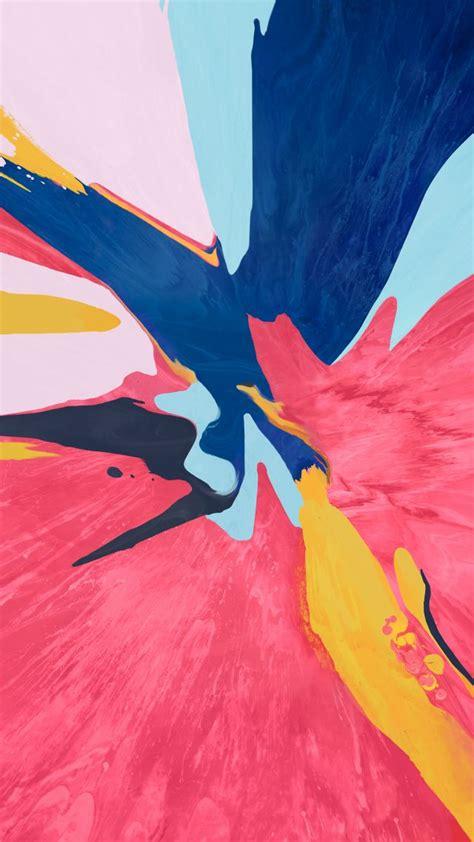 wallpaper abstract colorful ipad pro   os