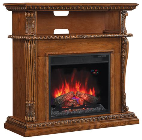 Corner Indoor Fireplace by Classicflame Corinth Wall Corner Tv Stand With 23