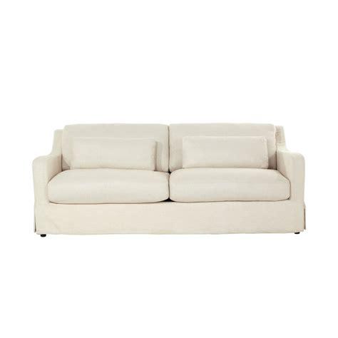 divani in lino divano in lino 3 posti vendome maisons du monde