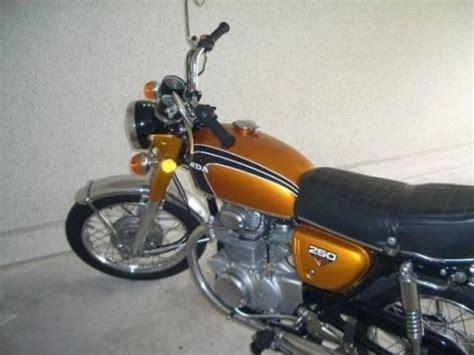 honda cb250 k4 1973 model gold vintage classic honda honda cb 250 k4 1973 from jerome marchesini