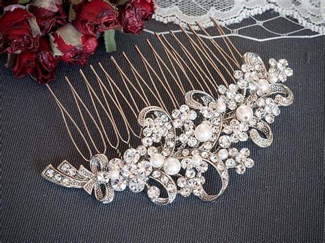 Wedding Hair Accessories Bow by Wedding Hair Accessories Bridal Hair Comb