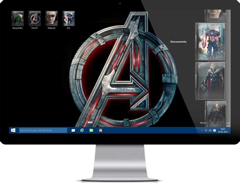 avengers theme download for pc avengers age of ultron theme for windows my on hax
