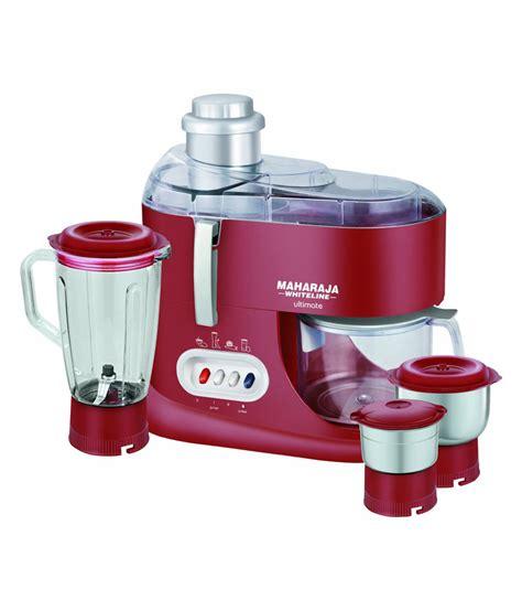 Maharaja Whiteline Jx 101 550 Watt 1 Jar Juicer Mixer