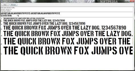 boston traffic font download boston traffic 1 1 incl crack serial keygen