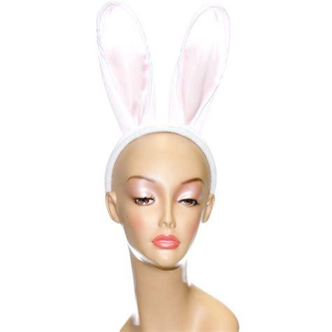 ears headband white bunny ears headband set 19629whaj mardigrasoutlet