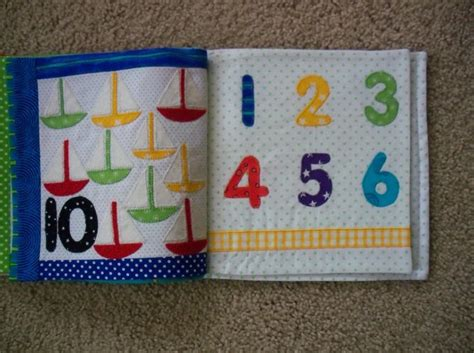 pattern fabric book busy book fabric book quiet book 123 by annies quilts