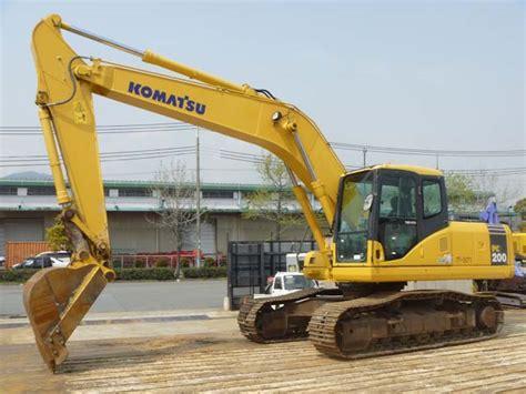 Alat Berat Pc200 Komatsu used excavator komatsu pc200 7
