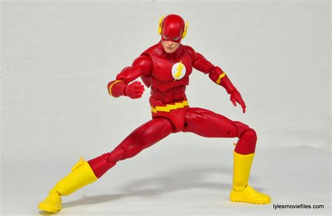 figure flash dc icons the flash figure review is a winner for dc