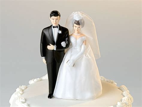 Wedding Cake Topper by Not Your Average Cake Toppers Temple Square