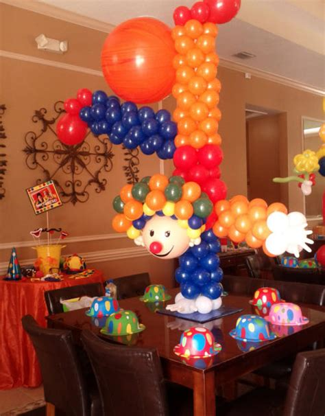 circus themed balloon decor circus balloon decoration by dreamark events fort