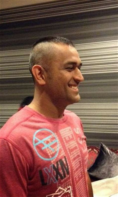 changing hairstyles dhoni hairstyle from long hair to mohawk look ms dhoni s ever changing