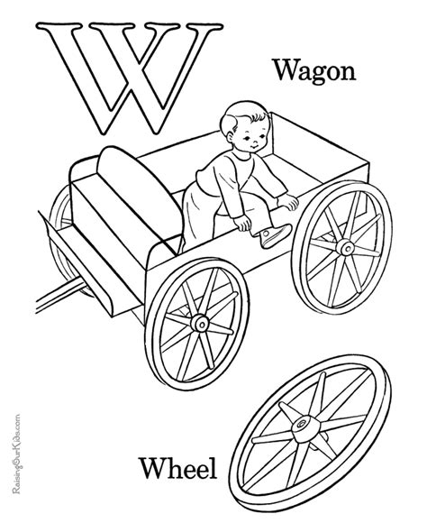 coloring pages of letter w letter w coloring pages to download and print for free