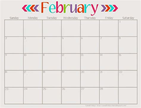 printable calendar cute february 2015 calendar cute new calendar template site