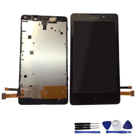 Touchscreen Nokia Xl Rm1030 Ori original for nokia xl lcd display digitizer touch screen complete tools free shipping in