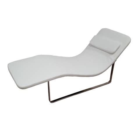 white chaise lounge chairs longa modern chaise lounge chair white ebay
