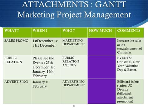 Free Marketing Plan Sle Of A Chocolate Retail And Manufacturer Je Marketing Project Plan Exles