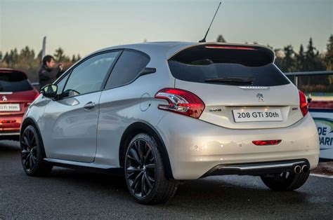 peugeot 208 gti 30th anniversary peugeot 208 gti 30th anniversary review how it should ve