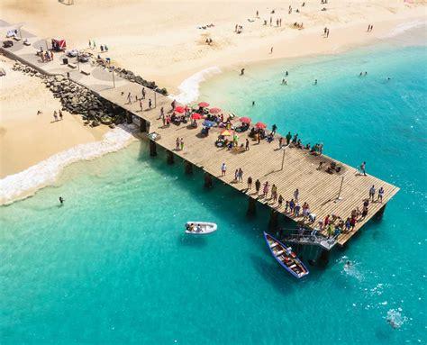 cabo verd playas de cabo verde el relax africano con arena blanca y