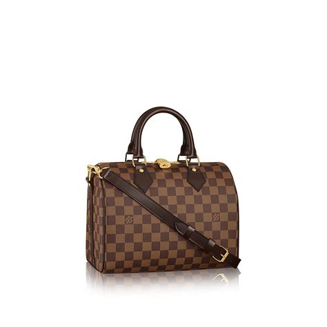 Louis Vuitton Speedy 40391 louis vuitton speedy bandouli 232 re 25 lg damier ebene handbags