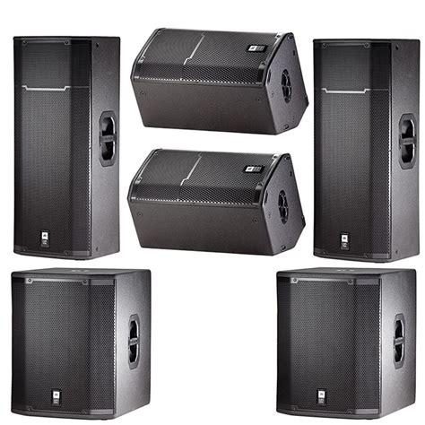 Speaker Jbl Prx 425 jbl prx passive dj pa speaker sub monitor system bundle