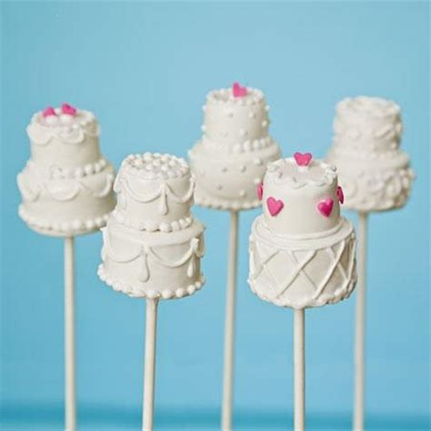 cake pops ideas for bridal shower mini wedding cake pops with pink edible sugar 1919345 weddbook