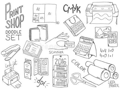 doodle center print shop doodle set stock vector illustration of doodle